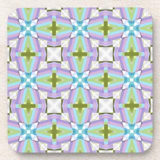 Criss Cross Colors Coaster