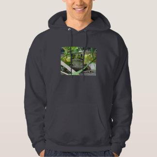 Criss Cross Frog Hooded Sweatshirt