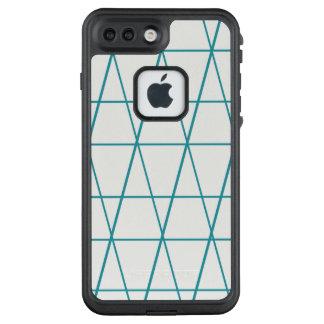 Criss cross pattern iphone 7 life proof case