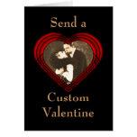 Criss Cross Perfect Heart Template Cards