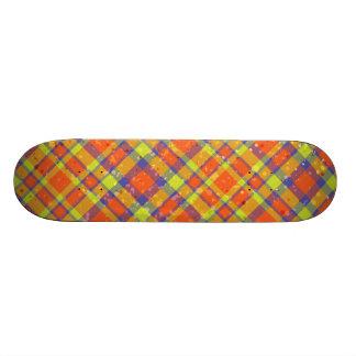 Criss Cross Skateboard Deck