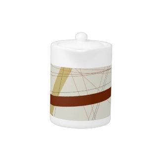 Criss Cross Teapot