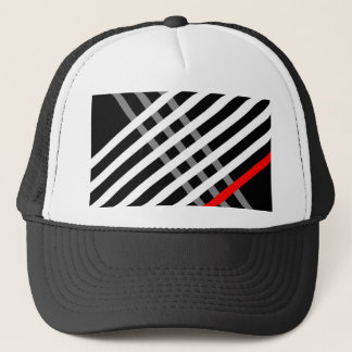 Criss Cross Trucker Hat
