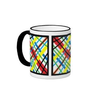 Crisscross Colors mug