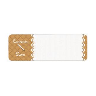 CrissCross U Pick Color/Food & Storage Labels
