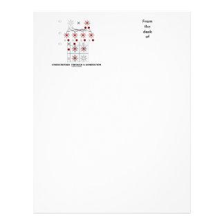 Crisscrossed Through A Generation (Punnett Square) Letterhead