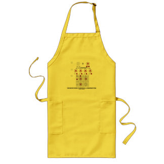 Crisscrossed Through A Generation (Punnett Square) Long Apron