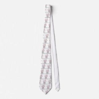 Crisscrossed Through A Generation (Punnett Square) Tie