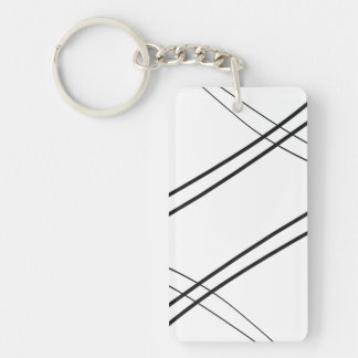 Crissed and Crossed Keychain