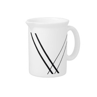 Crissed and Crossed Drink Pitcher