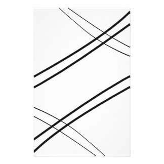 Crissed and Crossed Stationery