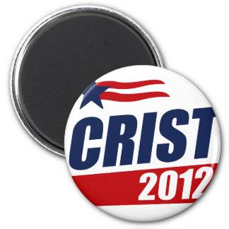 CRIST 2012 IMÁN REDONDO 5 CM