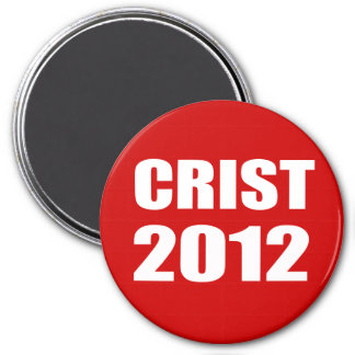 CRIST 2012 IMÁN REDONDO 7 CM