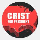 CRIST 2012 PEGATINA