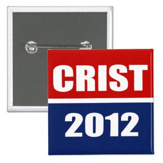 CRIST 2012 PIN CUADRADO