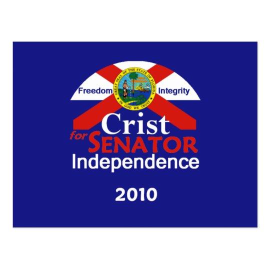 CRIST Senator Postcard