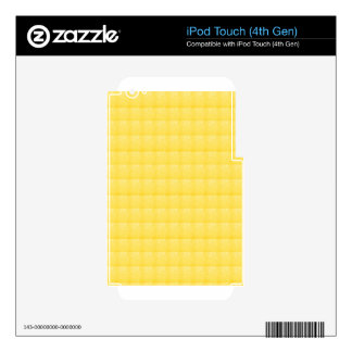 CRISTAL amarillo de la chispa - REGALOS de los SAL Calcomanía Para iPod Touch 4G