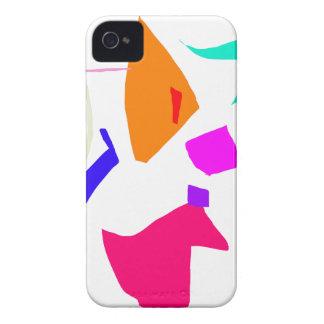 Cristal auténtico de la adolescencia pura de las p Case-Mate iPhone 4 protectores