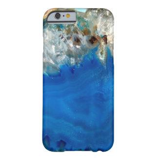 cristal azul funda para iPhone 6 barely there