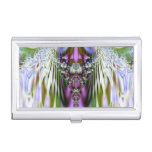 Cristal colorido caja de tarjetas de visita