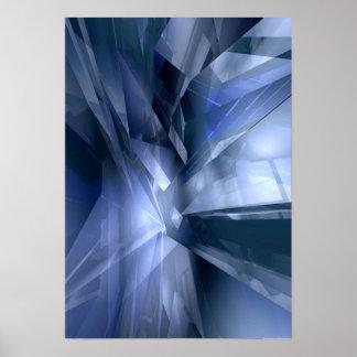 Cristal de cristal posters