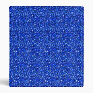 "Cristal de Druzy - azul del zafiro Carpeta 1"""