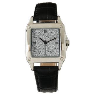 Cristal de Druzy - color oro blanco Relojes De Mano