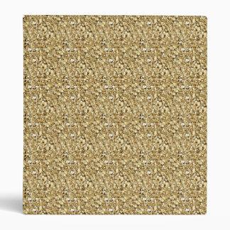 "Cristal de Druzy - oro metálico Carpeta 1"""