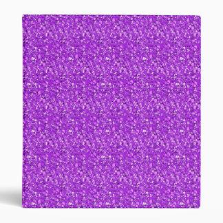 "Cristal de Druzy - púrpura amethyst Carpeta 1"""