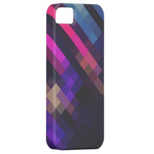 Cristal de neón - compañero del caso iPhone 5 cobertura