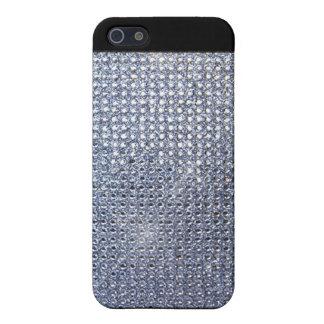 Cristal de plata iPhone 5 fundas