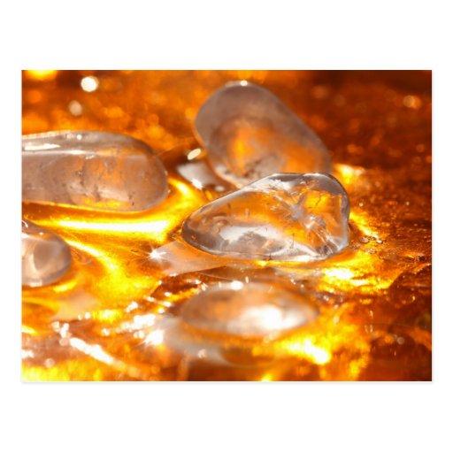 Cristal de roca postales