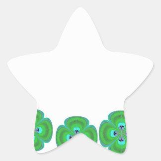 Cristal del diamante: Pétalos de RedRose PinkRose Calcomanías Forma De Estrellaes