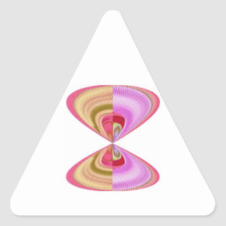 Cristal del diamante: Pétalos de RedRose PinkRose Pegatinas Trianguloes