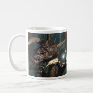 Cristal del dragón taza de café