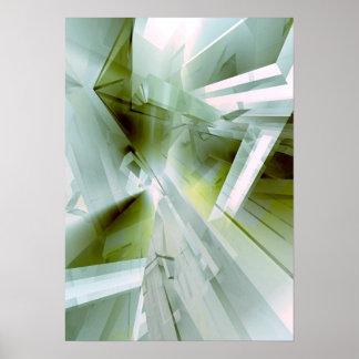 Cristal del jade impresiones