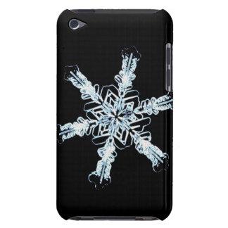 Cristal estelar de la nieve cubierta para iPod de barely there