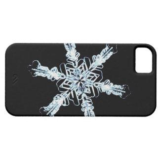 Cristal estelar de la nieve funda para iPhone SE/5/5s