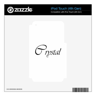 Cristal iPod Touch 4G Skin