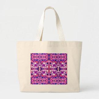 Cristal púrpura Museo-Inspirado Bolsa Tela Grande