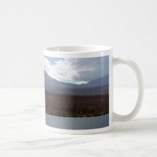 Cristalería de las montañas de Montana Taza