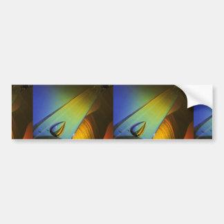 Cristalería y sombra espectral etiqueta de parachoque