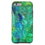 Cristales 2 del océano funda resistente iPhone 6