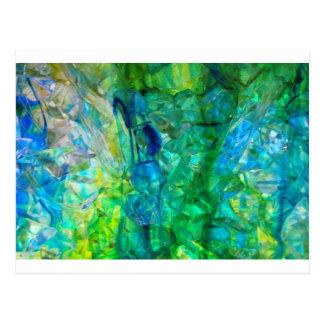 Cristales 2 del océano tarjetas postales