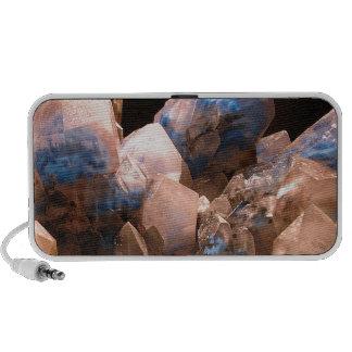 Cristales azules impresionantes mp3 altavoz