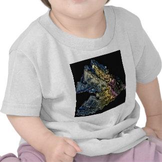 Cristales brillantes del bismuto nativo camiseta