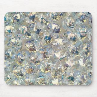 Cristales brillantes Mousepad