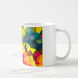 Cristales coloreados taza de café