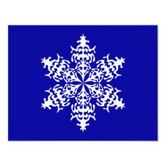 Cristales de hielo blancos de Slowflakes Comunicado