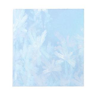 Cristales de hielo blocs de papel